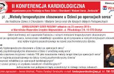 II Konferencja Kardiologiczna